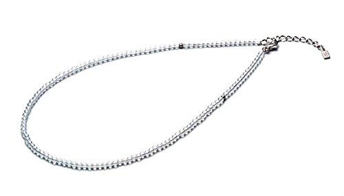 0515AQ812053/チタン水晶ネックレス(3mm) 50cm(+5cmアジャスター) 4940756360477/ファイテン株式会社