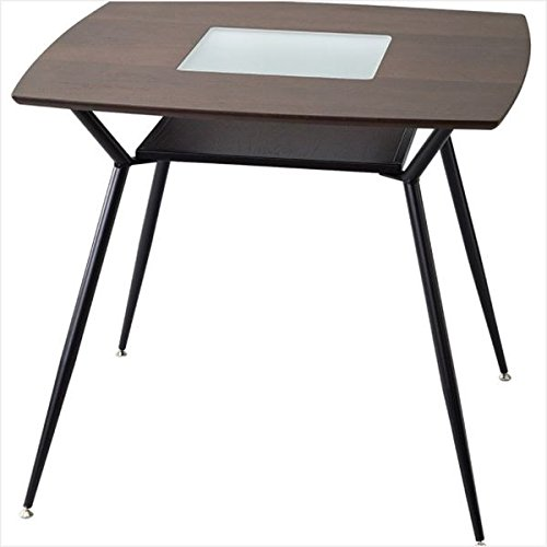 LOGIC DINING TABLE SQ DARK BROWN FST200DBR【スパイス社】
