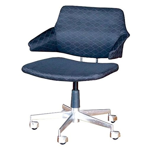 4947849940455 black office chair STG-SID-1501【スパイス社】