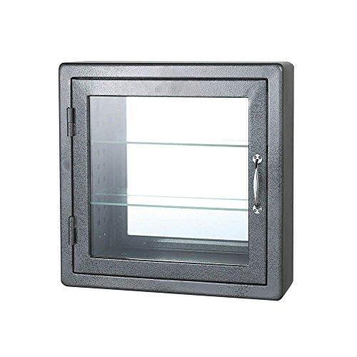 WALL MOUNT GLASS CABINET SQ H.GY/115-313GY ウォール マウント ガラス キャビネット スクエア ミラー仕様 DULTON(ダルトン)