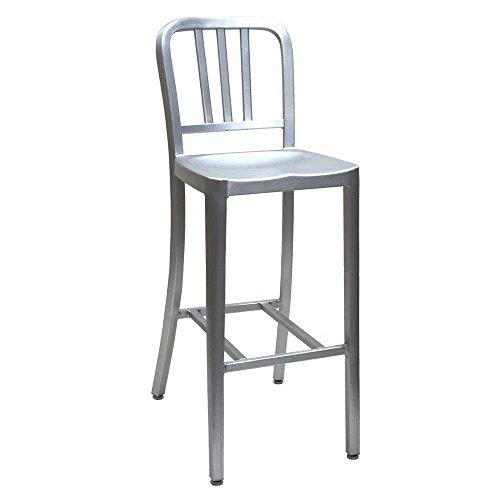 ALUMINUM BAR STOOL/ALC802C アルミ バー スツール 椅子 いす イス チェアー アルミニウム DULTON(ダルトン)