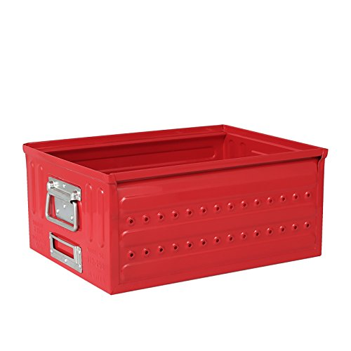 D.M.S ''GARAGE'' 16L RED/113-298RD D.M.S.ガレージ タフ ハード ボックス DULTON(ダルトン)