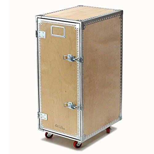WOODEN CABINET WITH CASTORS 4 LAYER/113-296-4L ステンレス ストレージ DULTON(ダルトン)
