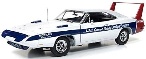 DH1/18ダッジデイトナ1969LA&OrangeCounty AMM1091 American Muscle 京商ダイキャスト