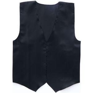 【おまとめ15個セット】 アーテック 衣装ベース(サテンベスト)大 黒 2085 4521718020853