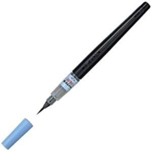 【販売セット数:100】4902506141019 ぺんてる Pentel ぺんてる 筆ペン 極細 XFL2F