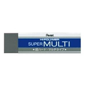 【販売セット数:200】4902506118509 ぺんてる Pentel スーパーマルチ消ゴム ZEB20