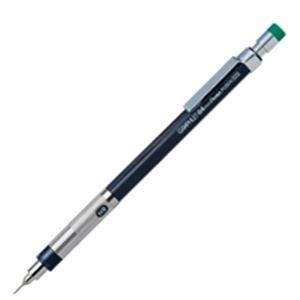 【販売セット数:60】4902506314123 ぺんてる Pentel シャープペンシル グラフレット HB 芯径0.4 メタリックグレー PG504-DD