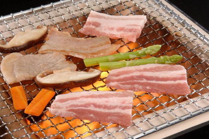 北海道 夢の大地豚 焼肉/ロース500g / お中元 内祝い 御礼 お見舞い お供
