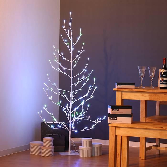 クリスマスツリー Xmasツリー レインボーブランチツリー120CM