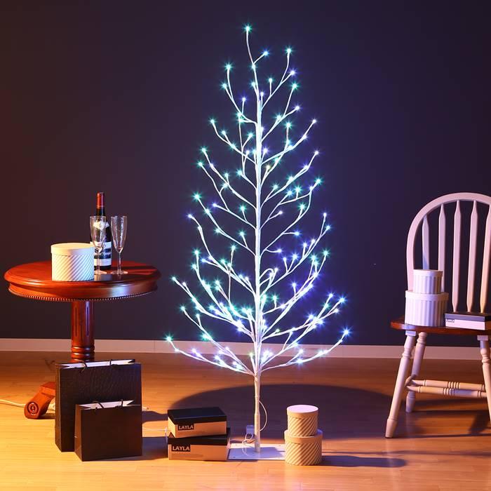 クリスマスツリー Xmasツリー レインボーブランチツリー150CM