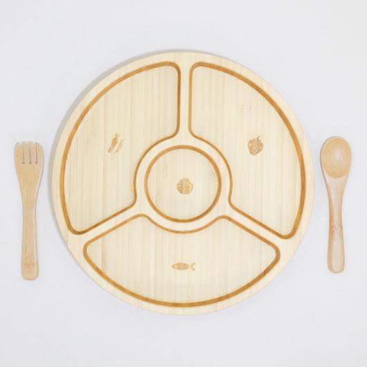 VALANCER SET FV-09-001W / FUNFAM / 出産祝い 離乳食 ファンファン 食器セット 男の子 女の子 日本製 / 4562364812720