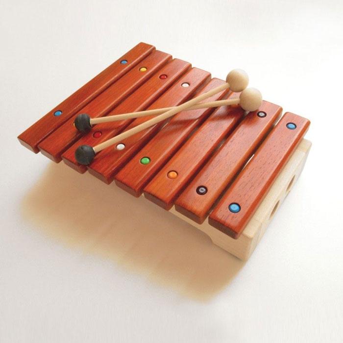 マストロ・ジェッペット 【 木琴:GRILLO(グリッロ) / MGWTMA02 】 3歳~ キッズ・ベビー おもちゃ 楽器玩具 木琴