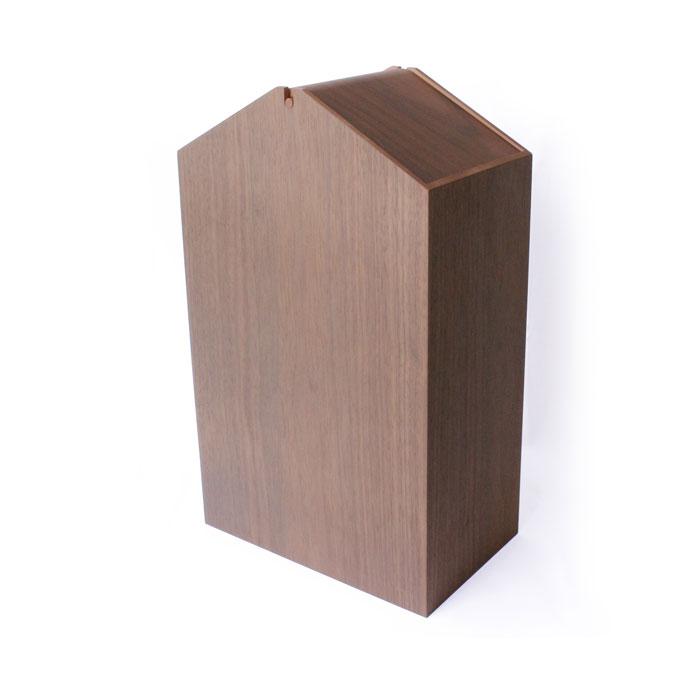 ごみ箱 / ヤマト工芸 yamatojapan / YK19-103 ARROWS woodie W BR 4560157626561