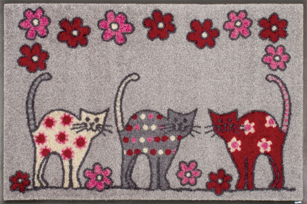 Animal+Friends Cat Parade 50 x 75 G008A 4580137057215/クリーンテックス
