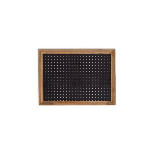 ペグボード A2 ブラック 41288 / マンゴーウッド/ラワン / W66 D2.5 H48 ポッシュリビング