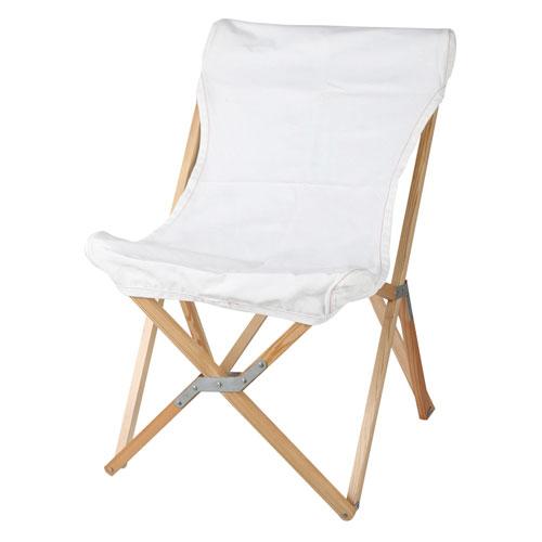 WOODEN BEACH CHAIR WHITE ホワイト/100-248 ウッデン ビーチ チェアー 椅子 いす イス DULTON(ダルトン)