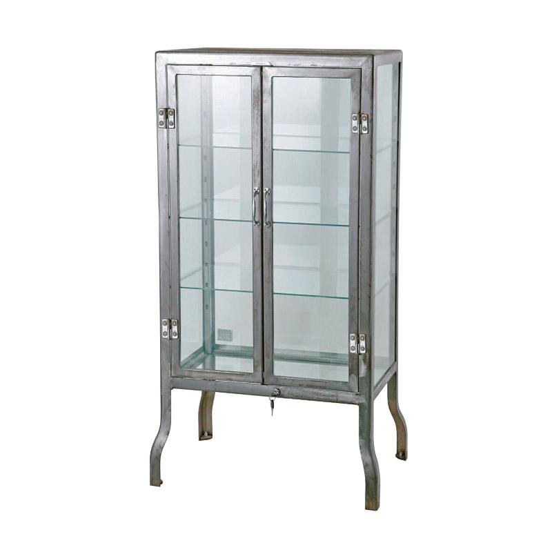 DR.CABINET (S) RAW FINISH/100-150RW ドクター キャビネット コレクションケース コレクション 全面ガラス アクセサリー ディスプレイ DULTON(ダルトン)