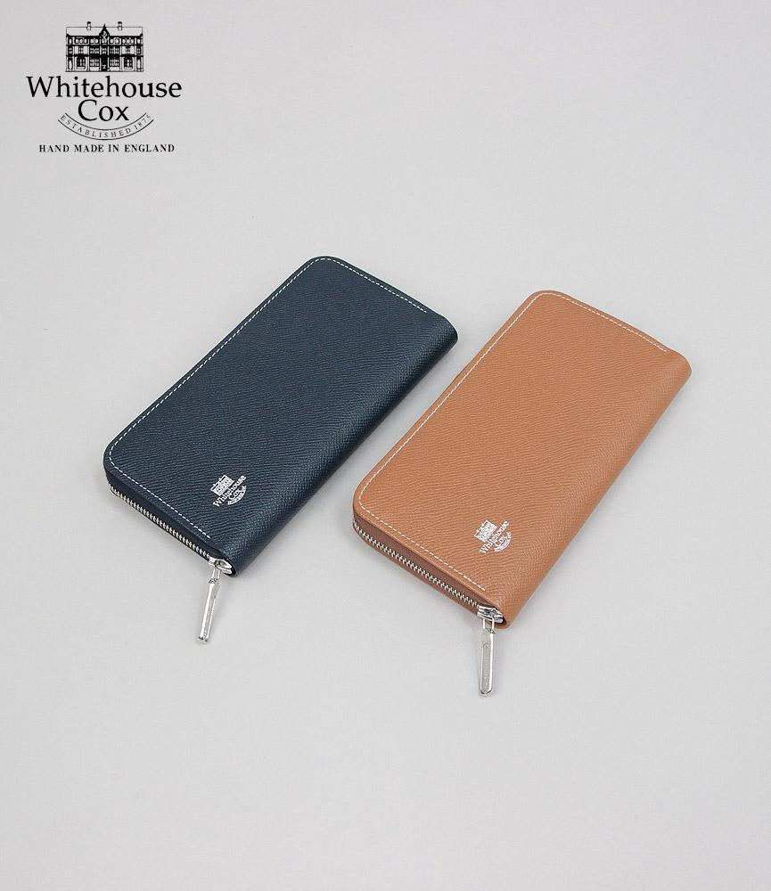ホワイトハウスコックス ロンドンカーフ ジップラウンド S2622 ZIP AROUND PURSE LONDON CALF Whitehouse Cox