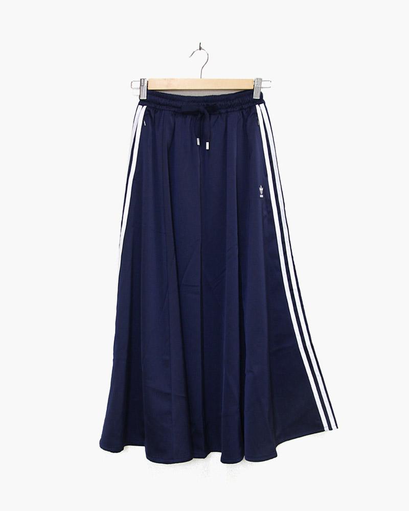 アディダス ロングサテンスカート FL0045 adidas 訳ありセール 期間限定特価品 格安
