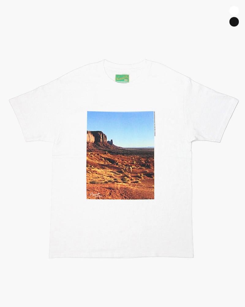 ウエストオーバーオールズ アリゾナフォトTシャツ WESTOVERALLS PHOTO ARIZONA オンラインショップ T-Shirt 新色追加