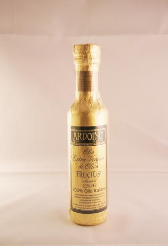 ヨーロッパ中で賞賛 オリーブオイルの最高峰 テーブルサイズが新登場 食用オリーブ油 アルドイノ 人気商品 エキストラバージン オリーブオイル フルクトゥス 期間限定今なら送料無料 250mlボトル FRUCTUS Extra oliandoli Olio ARDOINO Oliva di Vergine
