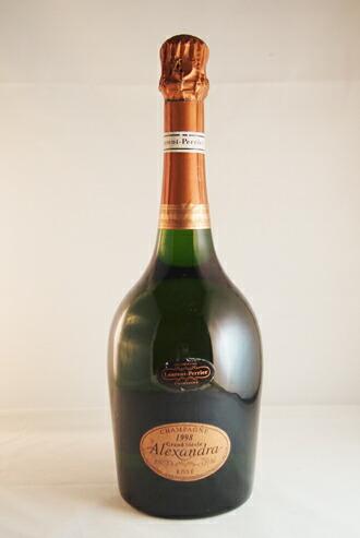 ローラン・ペリエ グラン・シエクル アレクサンドラ・ロゼ 1998  Laurent-Perrier Grand Siecle Alexandra ROSE CHAMPAGNE