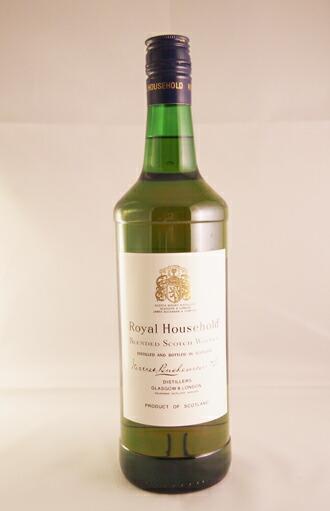 ロイヤル ハウスホールド 43度 箱付  ROYAL HOUSEHOLD Blended Scotch Whisky