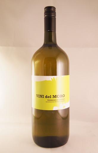 送料無料!1ケース(6本入)セット!バランスの取れた味わい&ハイコスパワイン!【白ワイン/辛口】 送料無料!【6本セット】ヴィーニ・デル・モーロ トレッビアーノ・ダブルッツォ 1.5Lマグナムボトル  VINI DEL MORO Trebbiano d'Abruzzo DOC