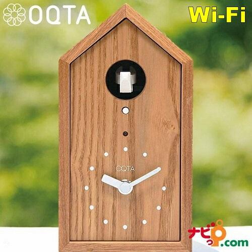 OQTAオクタ鳩時計敬老の日ギフトアプリと連動して思いを届ける鳩時計です マツコの知らない世界 70%OFFアウトレット OQTA 鳩時計 置時計 HATO 感謝価格 もく キズナ聞こえる鳩時計 Wi-Fi スマホ連動 思いだけを届ける新しい家族間コミュニケーション 数量限定品 ハト時計