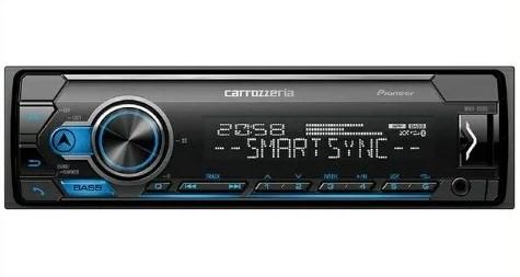 パイオニア carrozzeria MVH-5500 Bluetooth/USB/チューナー DSPメインユニット