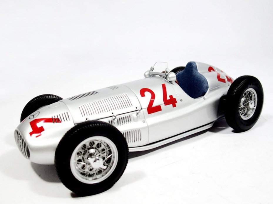 CMC シーエムシー メルセデス・ベンツ W165 1939年トリポリGP #24 M-074