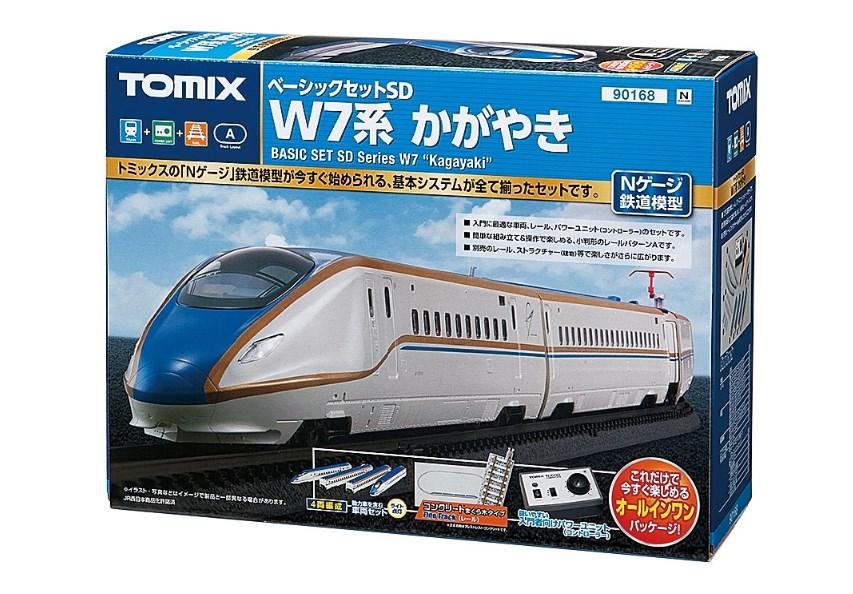 TOMIX Nゲージ 鉄道模型 ベーシックセットSD W7系かがやき 90168