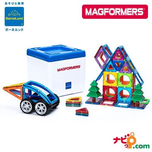 磁石ブロック知育玩具おもちゃマグネット数や形 空間把握力を養う磁石ブロックおもちゃ 限定プレゼント付き ボーネルンド マグ フォーマー マグフォーマー MAGFORMERS 日本限定セット ディスカバリーBOX 71ピース 知育玩具 磁石 ブロック 40%OFFの激安セール 国内正規品 MF797005 マグネット おもちゃ 全品送料無料