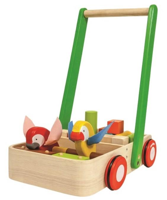 プラントイ PLANTOYS バードウォーカー 5176 木のおもちゃ 知育玩具
