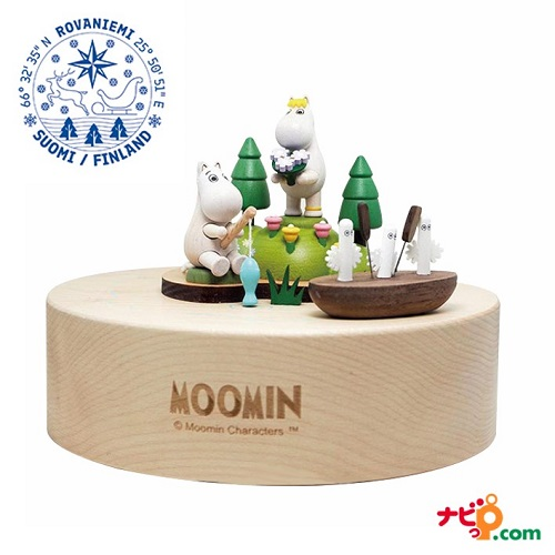 ムーミン Moomin ニョロニョロ オルゴール アークティックホール 北欧 フィンランド ATH120005
