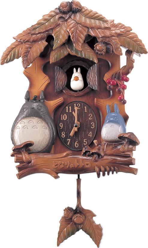 クオーツ式からくり時計 となりのトトロ トトロM806A 4MJ806MA06 リズム時計 RHYTHM