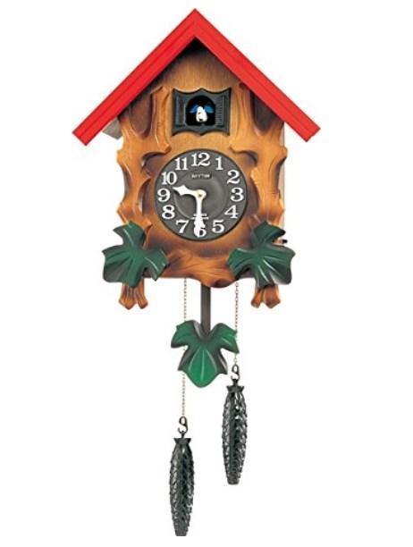 壁掛け 鳩時計 カッコーメルビルR 4MJ775RH06 リズム時計 RHYTHM