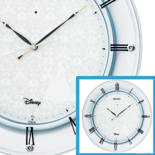 最新デザインの セイコークロック Clock ディズニークロック Disney シンデレラ 電波時計 SEIKO Disney Clock CINDERELLA CINDERELLA FS503W, 楽市きもの館:dfea9091 --- jf-belver.pt