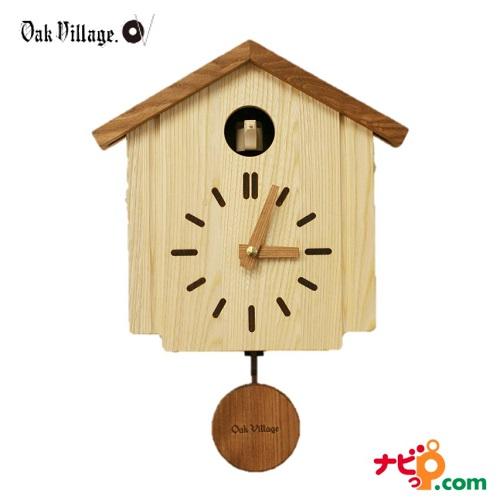 オークヴィレッジ カッコークロック 森の巣箱 壁掛け時計 鳩時計 インテリア 80018-10