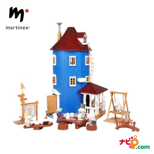 フィギュアと家具がセットだからプレゼントしてすぐに遊べるムーミンドールハウスおもちゃお片付けかんたん Moomin ムーミンハウス ドールハウス 北欧 おもちゃ MNX120017 安心の実績 高価 買取 強化中 超定番 マルティネックス martinex ムーミン
