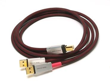 Acoustic Revive アコースティックリバイブ USBケーブル【A端子分離型】(1.0m) USB-1.0SP-Triple-C