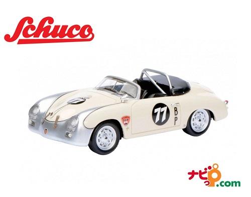 Schuco/シュコー ポルシェ 356 カレラ スピードスター Bruce Jennings ホワイト 1/43 450883800