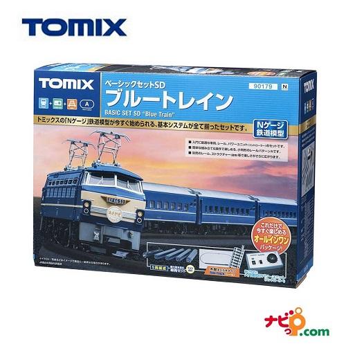 TOMIX Nゲージ 鉄道模型 入門セット ベーシックセットSD ブルートレイン 90179