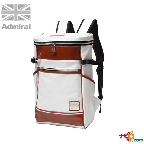 Admiral アドミラル リュック バックパック ADGT-06-WH ホワイト メンズ ビジネス バッグ ゴルフ