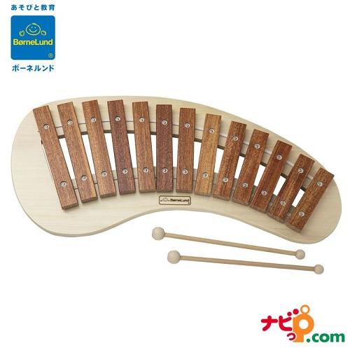 《週末限定タイムセール》 パレットシロフォン 音遊び メーカー公式 木製楽器 ボーネルンド パレット型の丸みのあるシンプルな知育楽器 知育楽器 木琴 オリジナル BZ9000