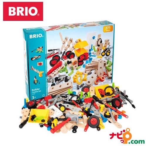 大容量の木製工具セット!子供も大人も楽しめます。誕生日プレゼントや出産祝いなどの贈り物におすすめです! BRIO クリエイティブセット 34589 木のおもちゃ ブリオ
