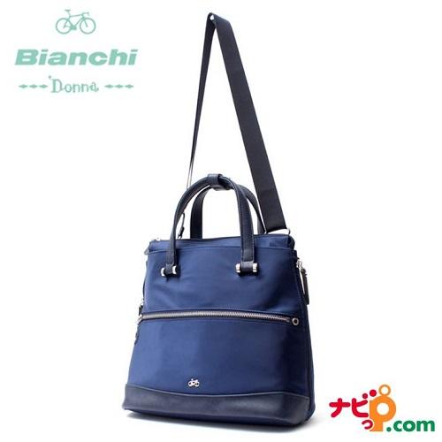ビアンキドンナ Bianchi Donna 3wayミニリュック ネイビー BDAY-02-NV