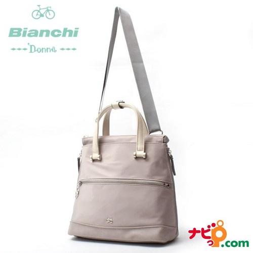 ビアンキドンナ Bianchi Donna 3wayミニリュック ライトグレー BDAY-02-LGY
