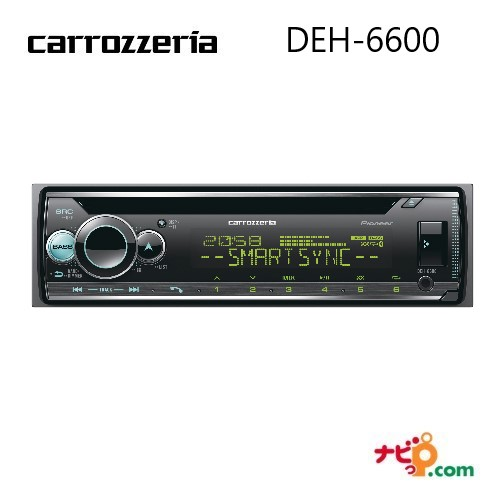 パイオニア carrozzeria DEH-6600 CD/Bluetooth/USB/チューナー DSPメインユニット